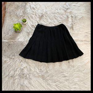St. John Collection Santana Knit Pleated Skirt